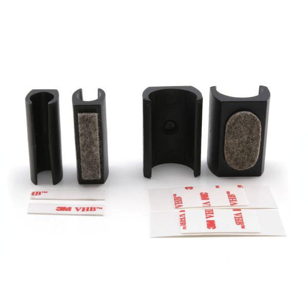 Klemmgleiter Set schwarz