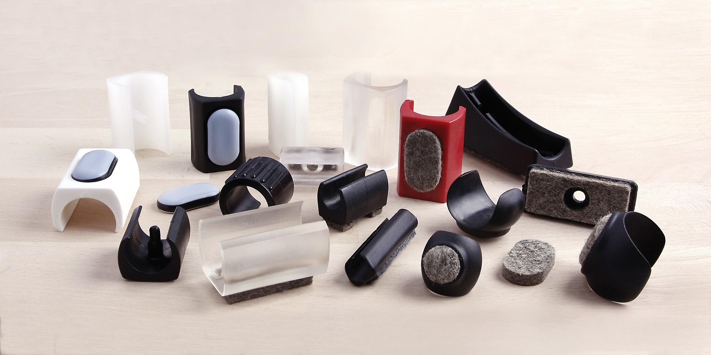 Mit oder ohne Zapfen: So finden Sie den richtigen Klemmgleiter