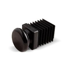 Gelenkgleiter Kunststoff eckig