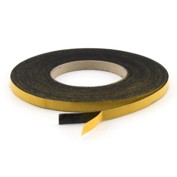 Filzklebeband schwarz aus Softfilz