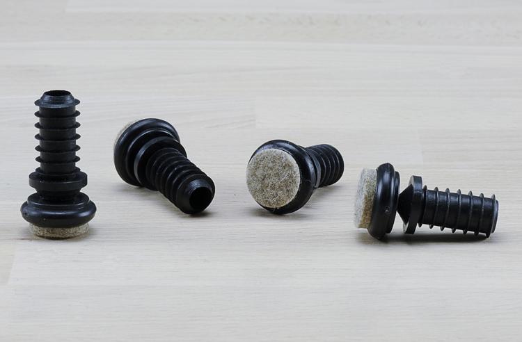 gelenkgleiter f r stahlrohrst hle mit schr gen beinen. Black Bedroom Furniture Sets. Home Design Ideas