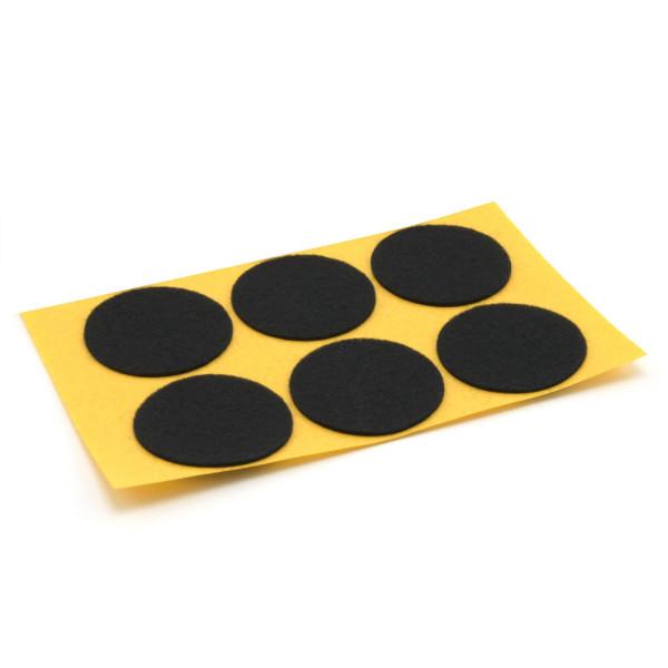 Filzgleiter rund schwarz Ø 42 mm