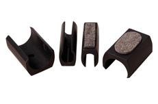 Klemmgleiter für ovale Stuhlrohre