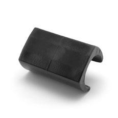 Klemmgleiter Kunststoff schwarz