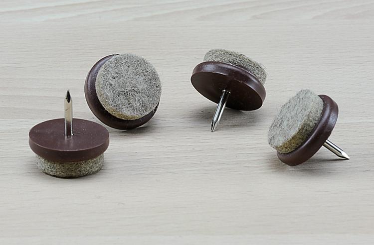 Möbelgleiter: Warum Nagel- und Schraubgleiter bei uns immer rund sind