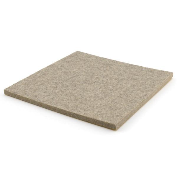 Filzzuschnitt grau 200 x 200 mm
